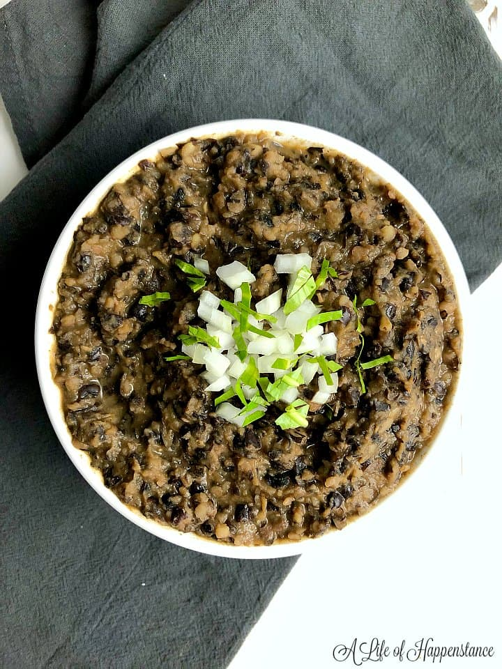 Homemade Refried Black Beans Scd Gluten Free